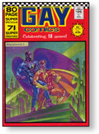 Gay Comics #25 cover