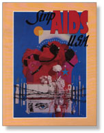 Strip AIDS USA cover